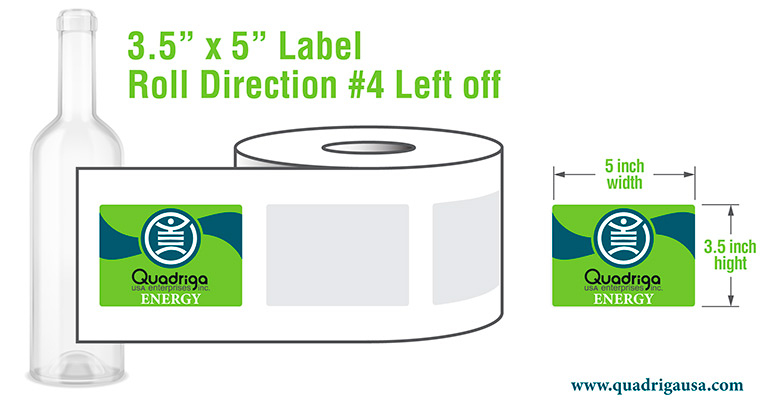 Label Roll Direction Left Off